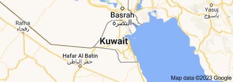 Location of Kuwait