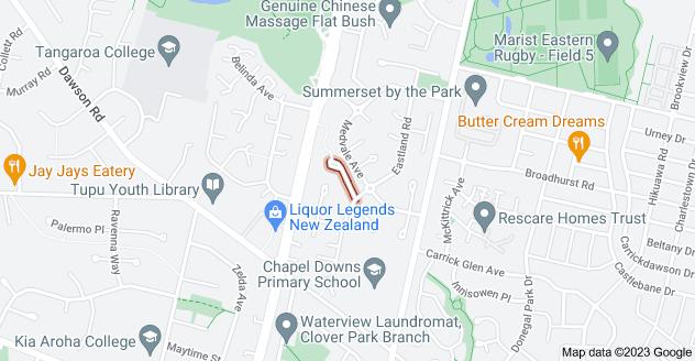 Location of Sambrooke Crescent