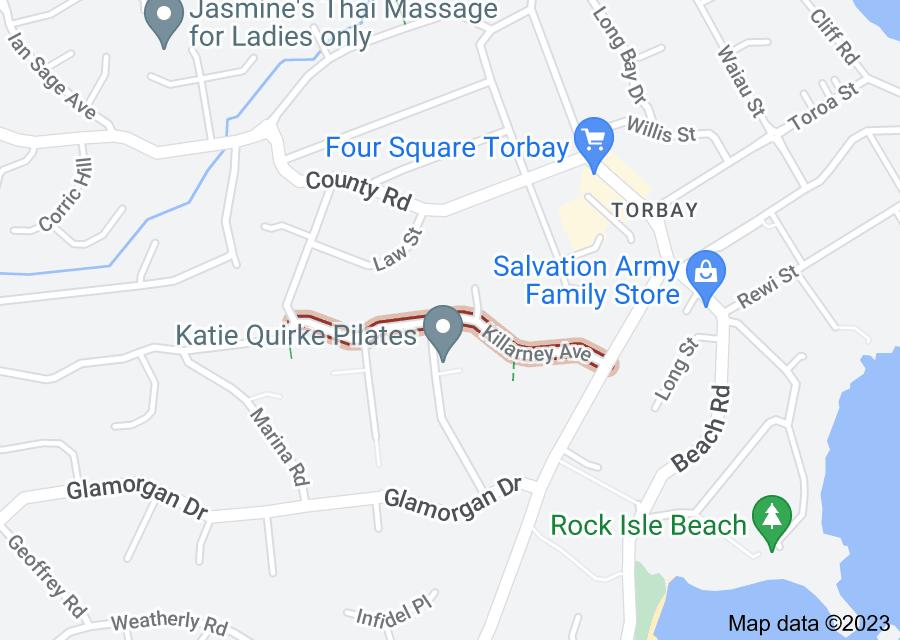 Location of Killarney Avenue