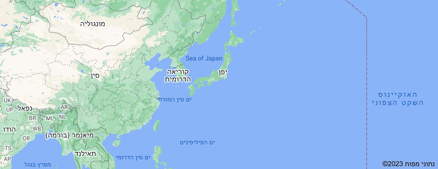 Location of יפן