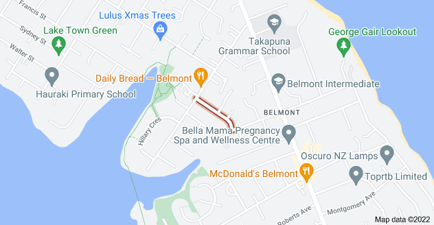 Location of Coronation Street