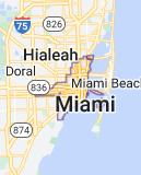 Map for Miami