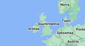 Location of Suurbritannia