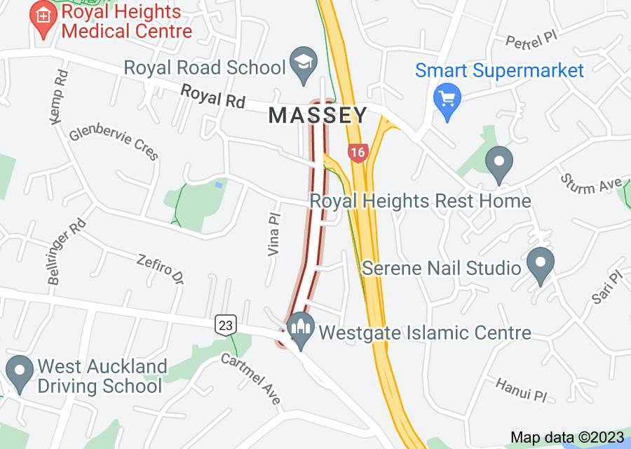 Location of Makora Road