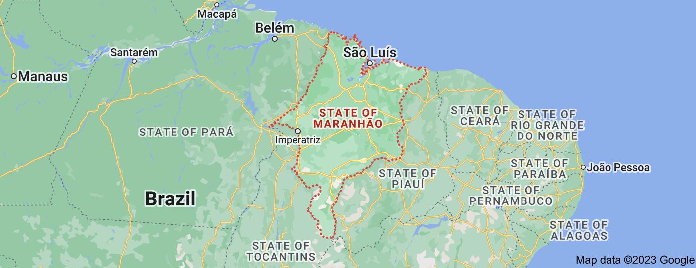 Location of State of Maranhão
