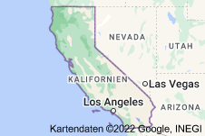 Location of Kalifornien