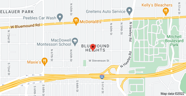 Map of 171 N 62nd St, Milwaukee, WI 53213