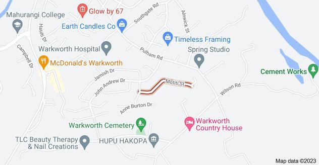 Location of Motiti Street