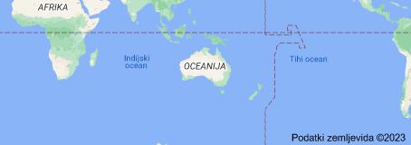Location of Avstralija