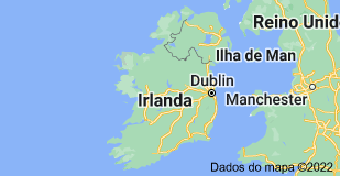 Location of Irlanda