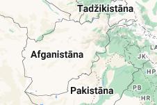 Location of Afganistāna
