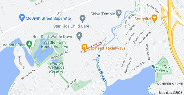 Location of Mcquarrie Avenue