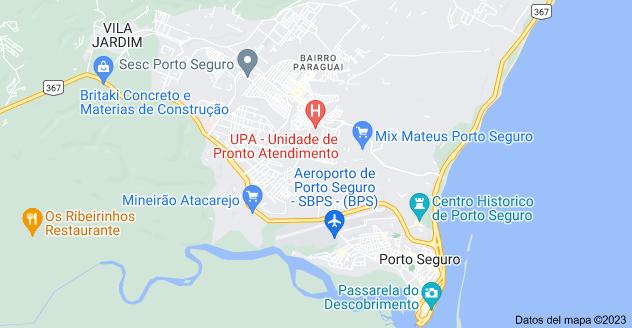 Mapa de Porto Seguro, Bahía, 45810-000, Brasil