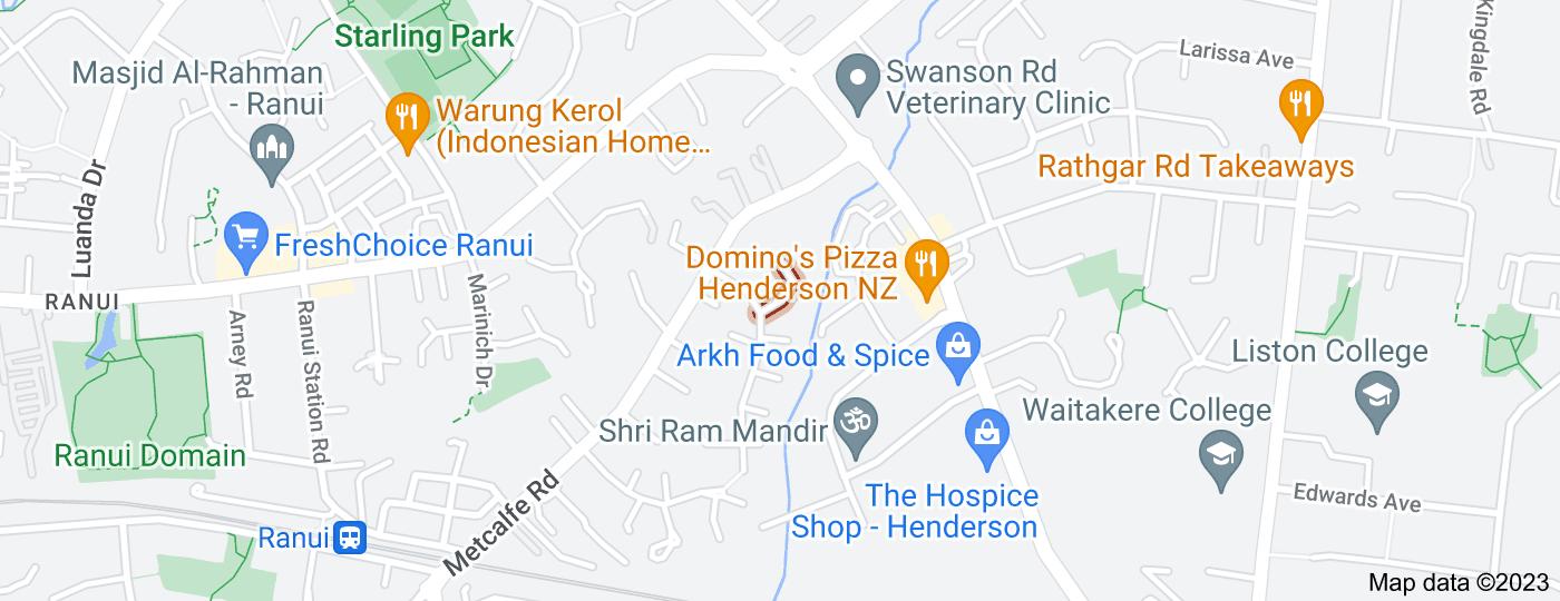 Location of Kinvig Place
