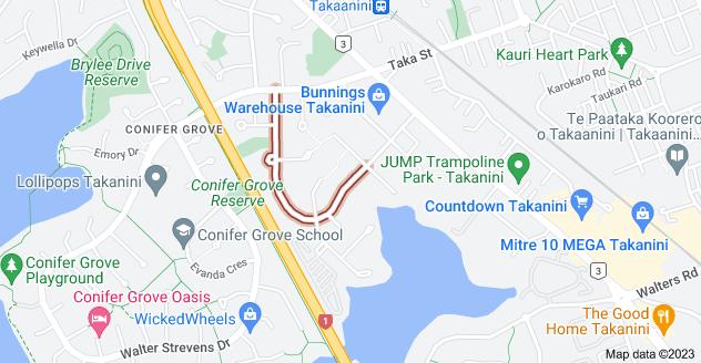 Location of Kindergarten Drive