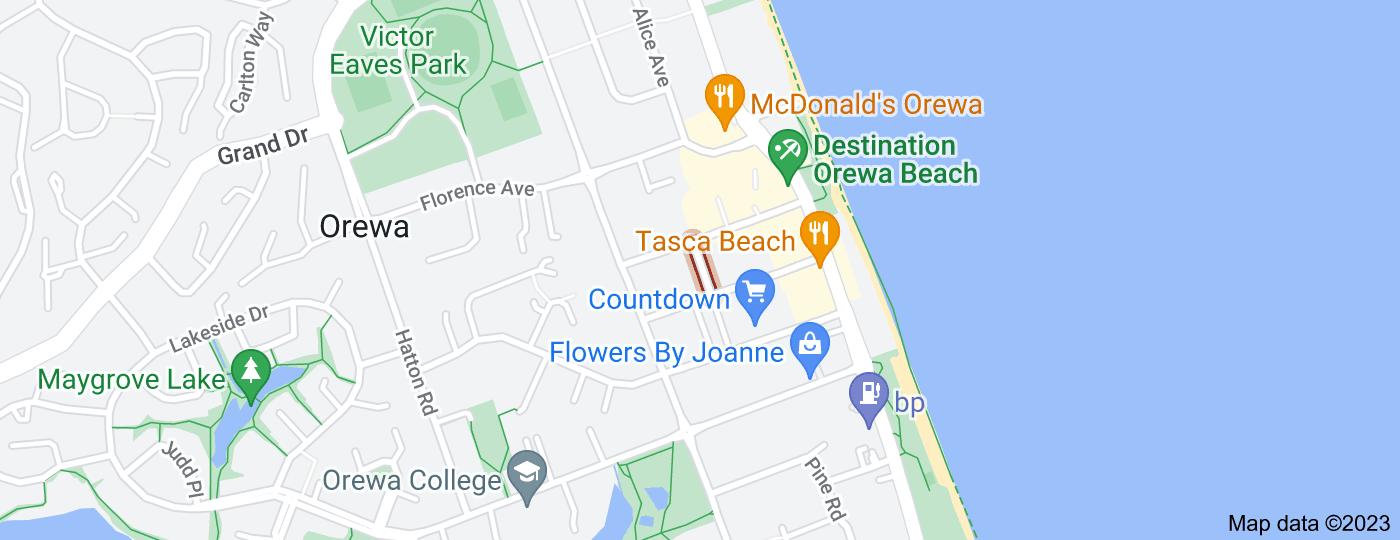 Location of Keith Morris Lane
