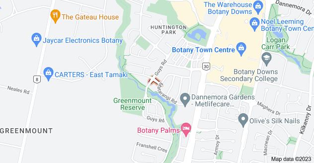 Location of Lurgan Drive