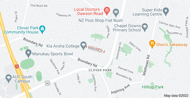 Location of Maytime Street
