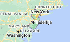 Location of New Jersey