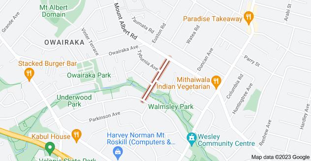 Location of Beagle Avenue