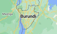 Location of Burundi