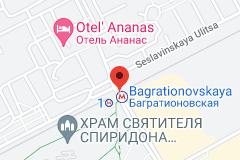 Location of Bagrationovskaya