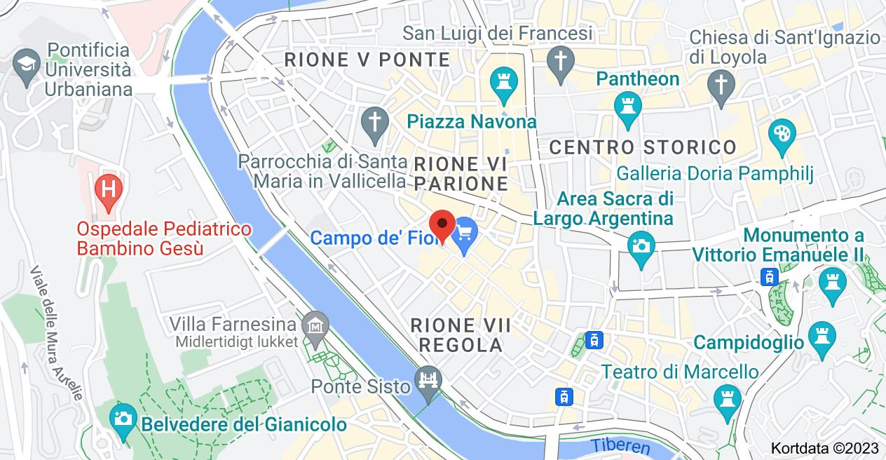 Kort over Via dei Cappellari,  10,  00186 Roma RM,  Italien