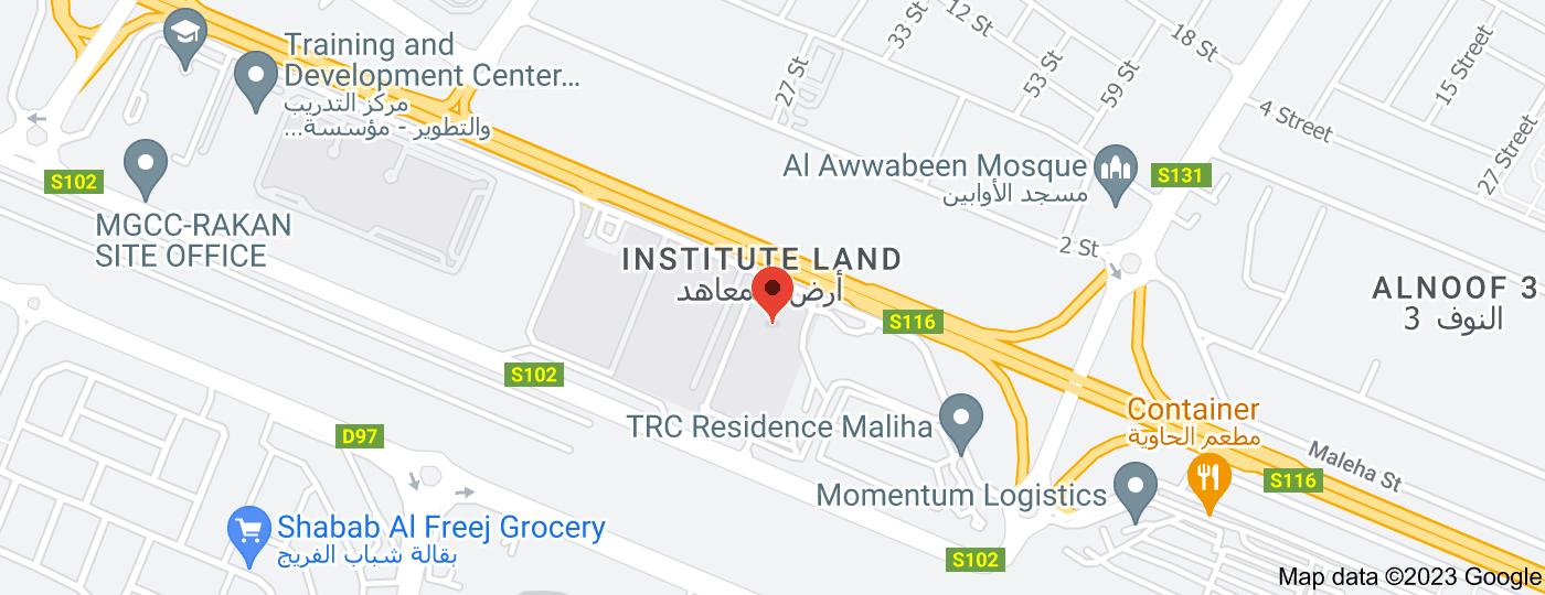 Location of American School of Creative Science