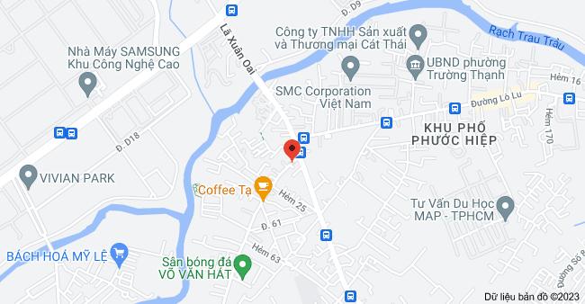 Bản đồ của 208, 7 Võ Văn Hát, Long Trường, Quận 9, Thành phố Hồ Chí Minh