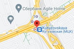 Location of Kutuzovskaya