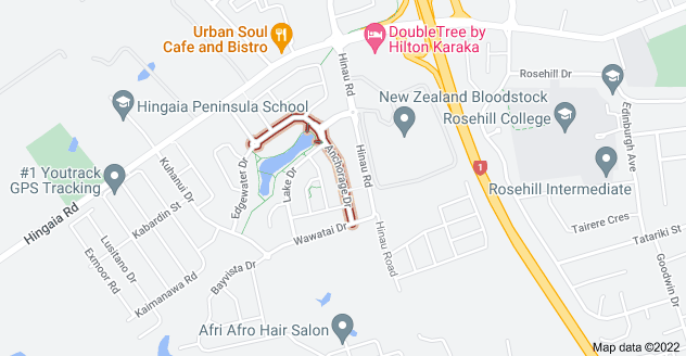 Location of Anchorage Drive