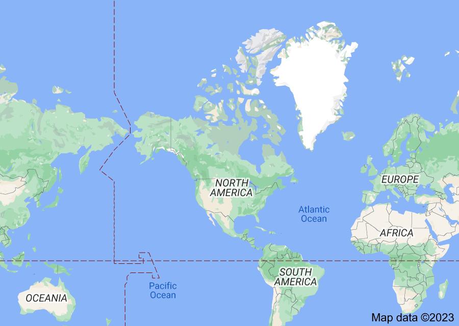 Location of Eurasia