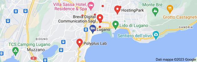 Mappa di: creazione siti web lugano
