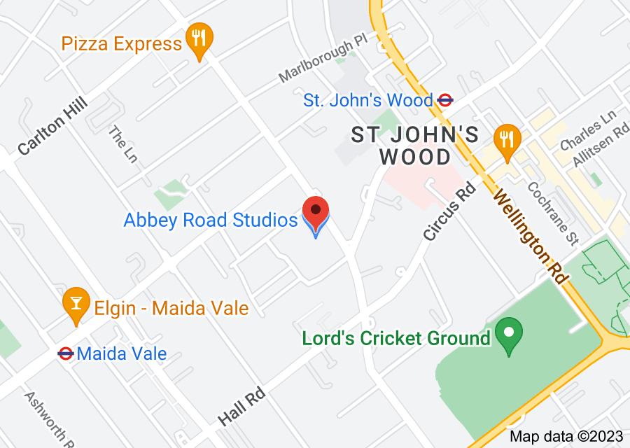 Location of Abbey Road Studios