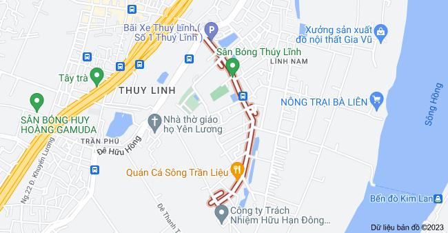 Bản đồ của Thúy Lĩnh, Lĩnh Nam, Hoàng Mai, Hà Nội