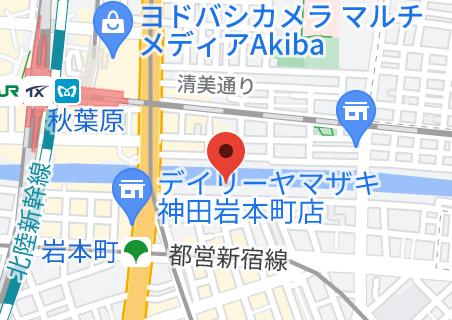 滝上ビルの地図
