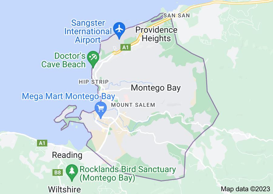 Location of Montego Bay