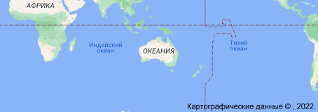 Location of Австралия