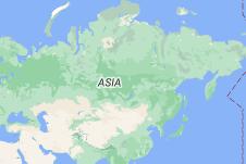 Location of Rusia