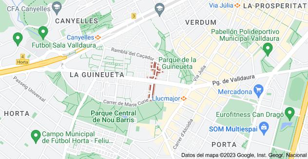 Mapa de Carrer d'Alsàcia, Barcelona, España