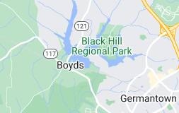 Map of Boyds, Maryland