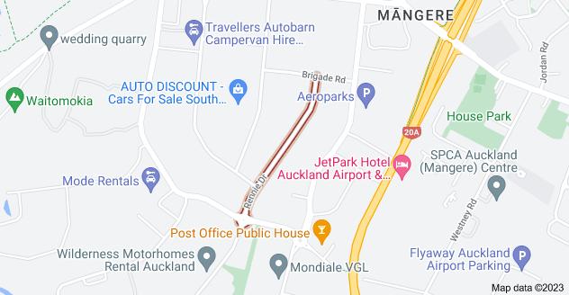 Location of Rennie Drive