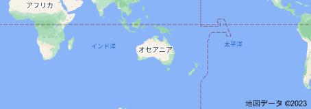Location of オーストラリア