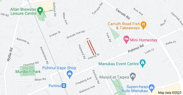Location of Lipscombe Avenue