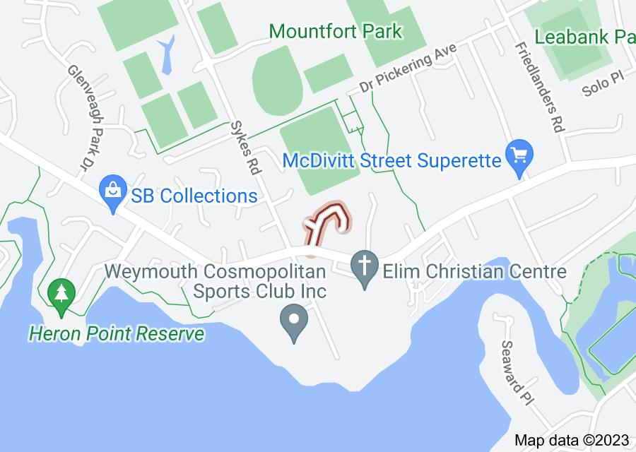 Location of Anglers Way