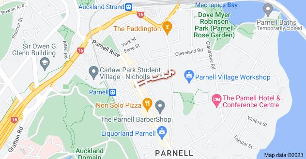 Location of Ruskin Street