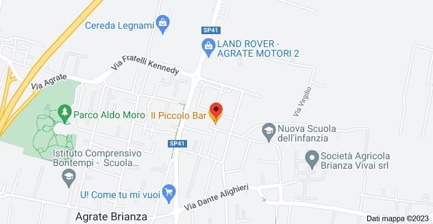 Mappa di: Via Padre Clemente Vismara, 63, 20864 Agrate Brianza MB
