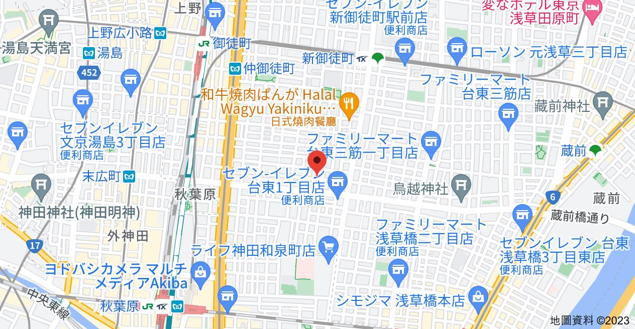 日本〒110-0016 Tōkyō-to, Taitō-ku, Taitō, 2 Chome−3−7 日興パレス秋葉原日本興和(株)地圖