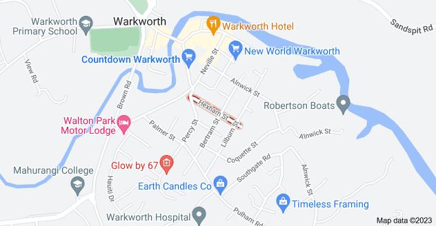 Location of Hexham Street