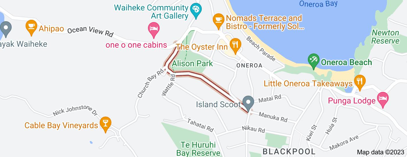 Location of Mako Street